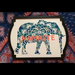 Namaste Elephant Decor